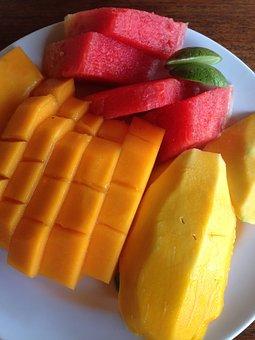 Mango, Fruit, Watermelon, Southern Countries