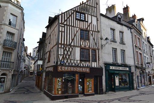 Medieval Street, Shoe Repair, Medieval House