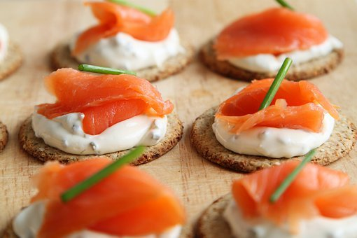 Appetizer, Canape, Canapes, Cheese, Cracker, Cuisine