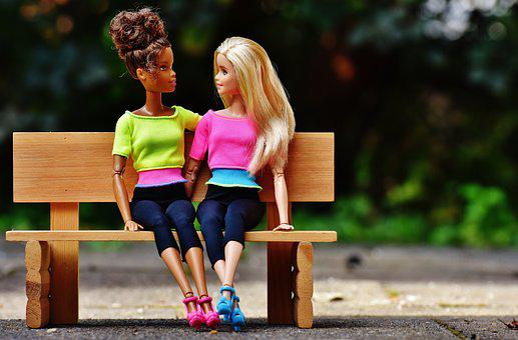 Barbie, Girl, Girlfriends, Friendship, Doll, Pretty