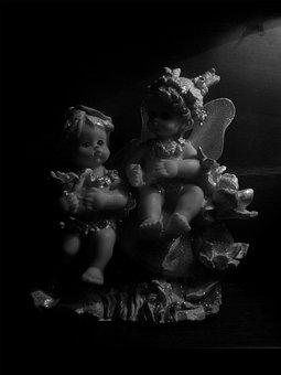 Dolls, Decoration, Toy, Small, Souvenir, Angel, Gift