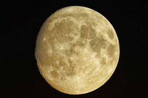 Moon, Ache, Luna, Earth's Moon, Celestial Body