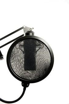 Studio, Microphone, Vocal Microphone, Audio, Recording