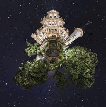 Little Planet, Planet, Small Planet, Castle