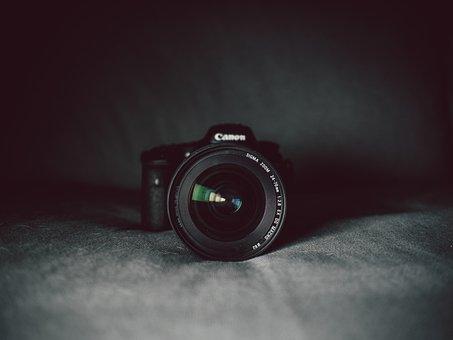Camera, Digital, Photography, Isolated, Technology