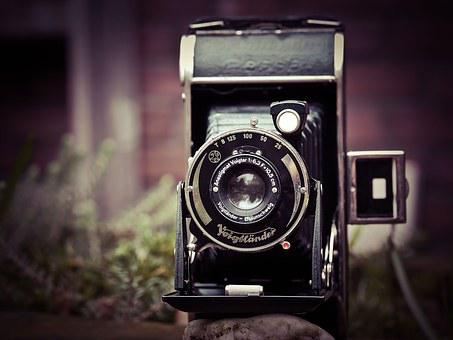 Photo Camera, Camera, Voigtlander, Photograph, Old