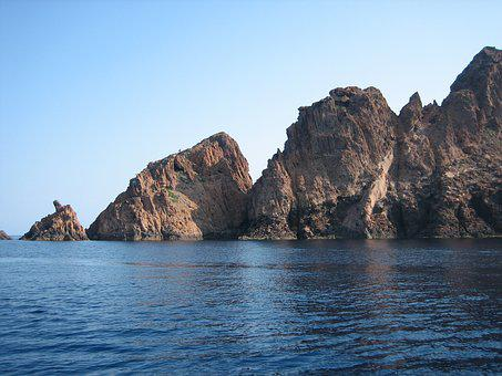 Scandola, Corsican, Piana, Unesco, Sea, Volcanic