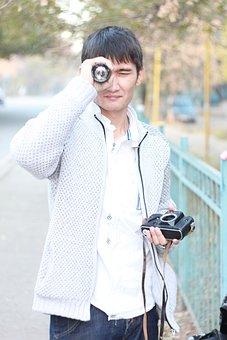 Man, Photographer, Lens, Myron, Fotoaparat, Zenith