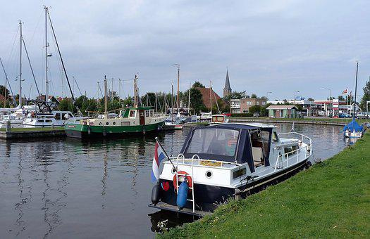 Transport, Boat, Building, Mooring, Cabin, Holiday