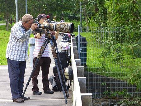 Photographers, Photography, Camera, Zoom Lens