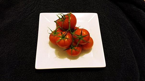 Tomatoes, Red, Vegetable, Healthy, Organic, Vegetarian