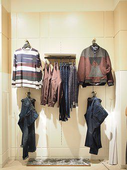 Commercial, Shopping Center, Retail, Cloth, Male, Shop