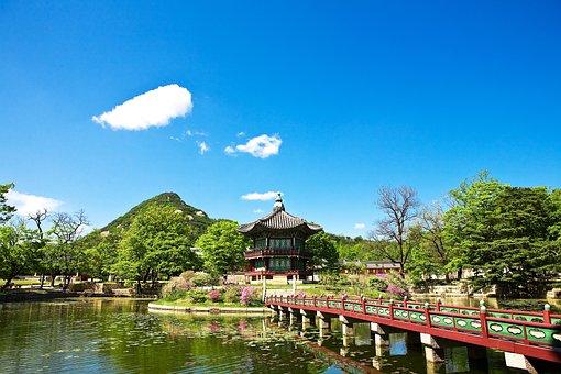 Facing Garden, Gyeongbok Palace, Roof Tile