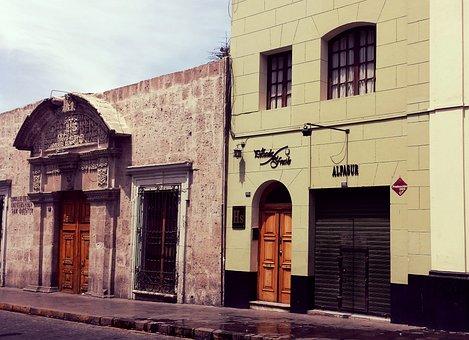 Arequipa, Urban, Andes, Peru, Destination, Street