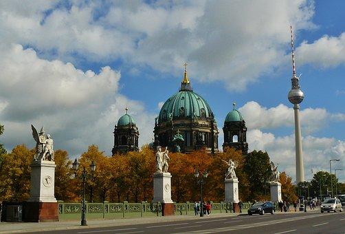Berlin Cathedral, Dom, Church, Berlin, Landmark
