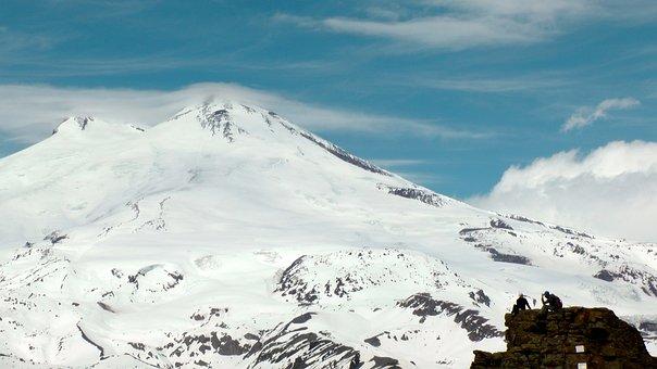 Elbrus, Mountains, The Caucasus, Kabardino-balkaria