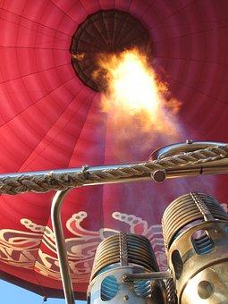 Hot Air Balloon, Burner, Balloon, Hot, Air, Flight