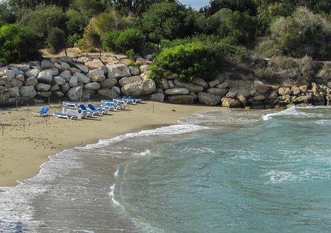 Cyprus, Protaras, Cove, Beach, Tourism, Resort