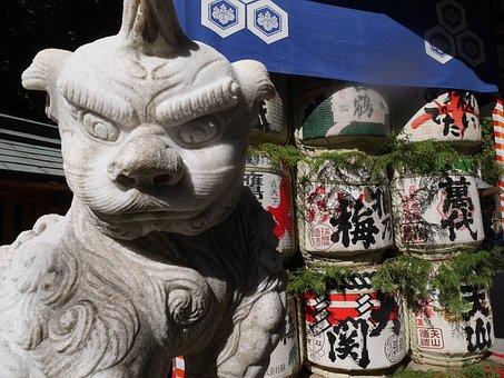 Japan, History, Shrine, Fukuoka, Hakata