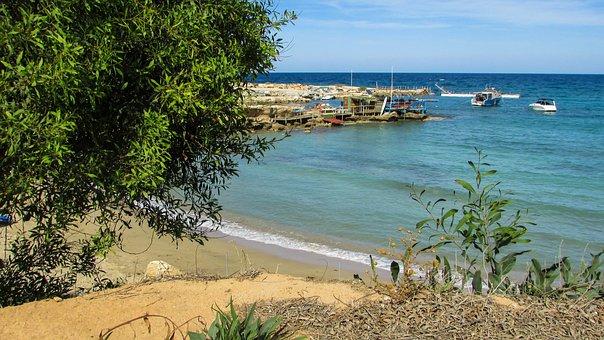 Cyprus, Protaras, Greenbay, Sandy, Beach, Cove