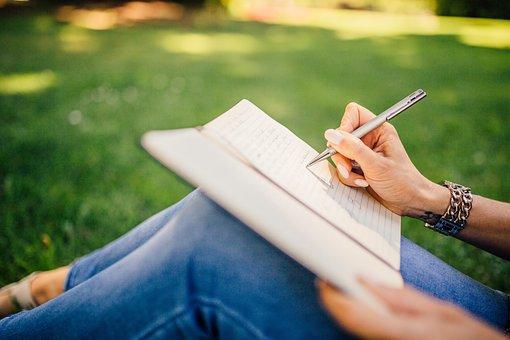Writing, Writer, Notes, Pen, Notebook, Book, Girl