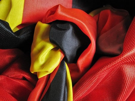 Knot, Toi Toi Toi, Football, Germany, Flag