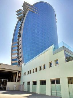 Construction, Barcelona, Urban, Singular, Glass
