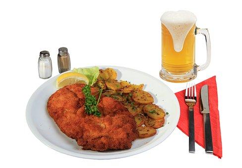 Eat, Schnitzel, Breaded, Kitchen, Nutrition
