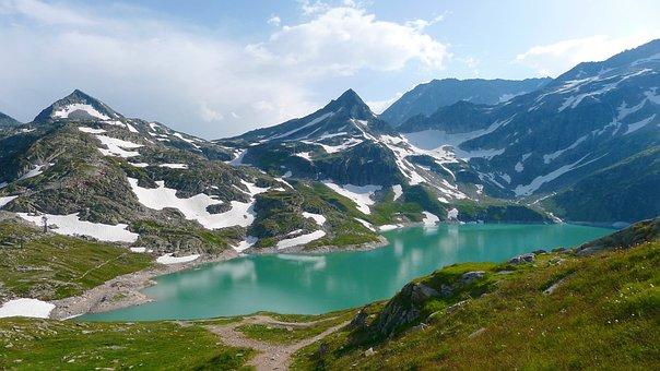 Lake, Bergsee, Nature, Landscape, Alpine Landscape