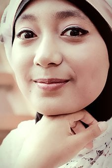 Girl, Hijab, Smile, Women, Islam, People, Potrait