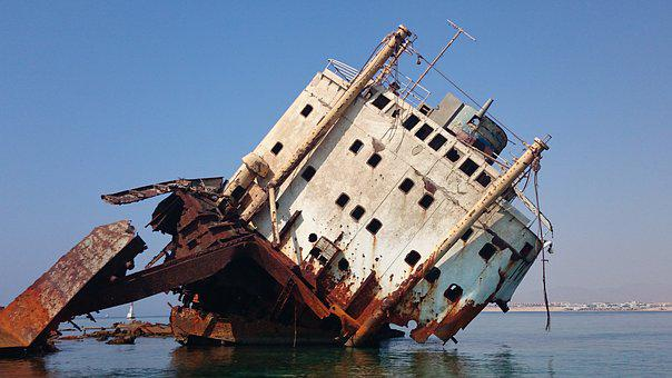 Red Sea, Sea, Sharm El Sheikh, Luliya, Ship, Wreck