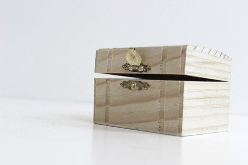 Craft, Wooden, Treasure, Box, Wood, Storage, Jewelry