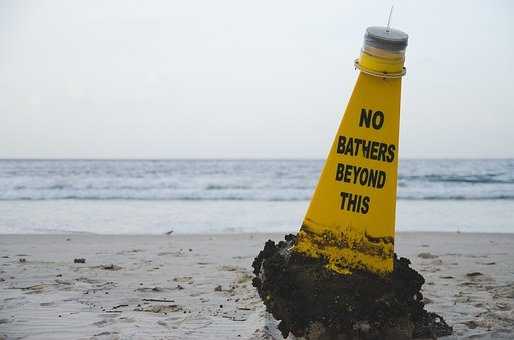 Beach, Buoy, W, Water, Sea, Ocean, Sand, Summer, Travel