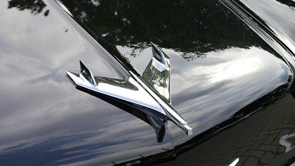 Auto, Cool Figure, Metal, Chrome, Trademarks, Shiny