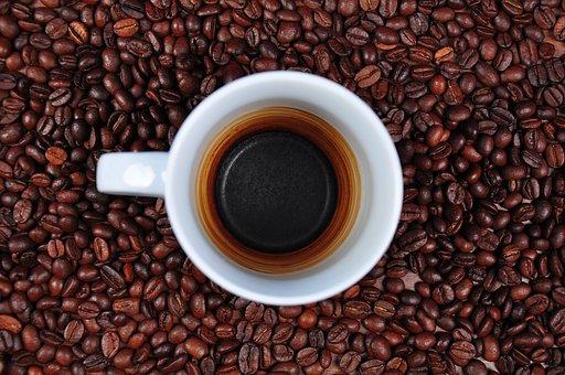 Coffee, Empty Cup, Coffee Beans, Coffee Mugs