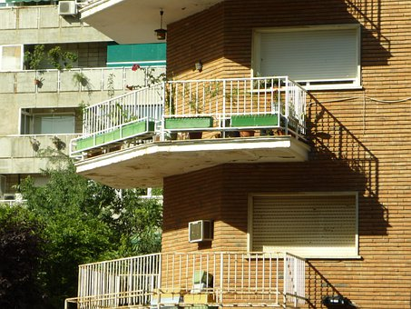 Balcony, Cantilever, Handrail, Viewpoint, Terrace