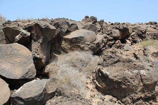 Rocks, Lava, Stone, Volcanic, Island, Nature, Tropical