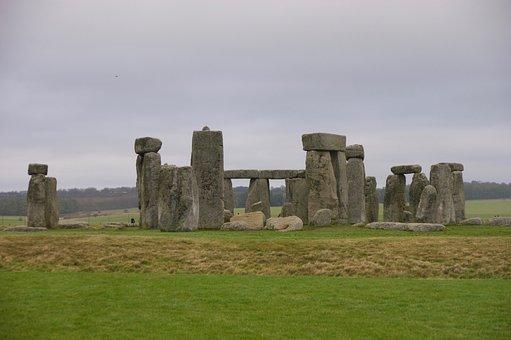 Stonehenge, England, Uk, Stone, Monument, Ancient, Rock