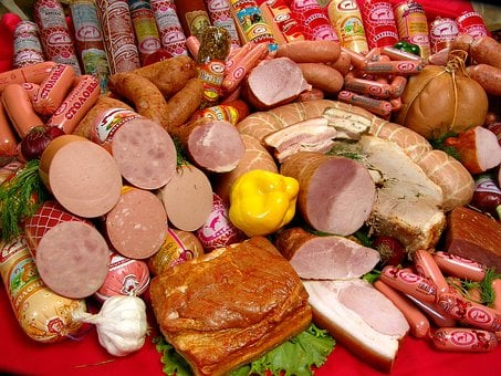 Food, Sausage, Meat Products, Advertising, Russia