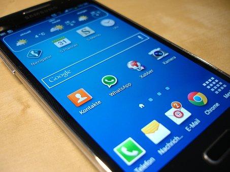 Smartphone, Samsung, Galaxy S4 Mini, Communication