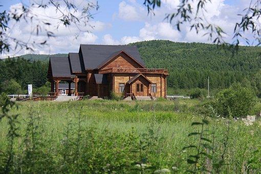 Housing, Huts On The Prairie, Log Cabin