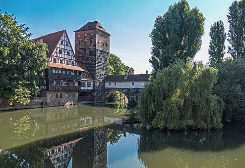 Nuremberg, Historically, Pegnitz, Old Town