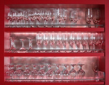 Glasses, Glass, Restaurant, Drink, Bar