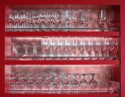 Glasses, Glass, Restaurant, Drink, Bar