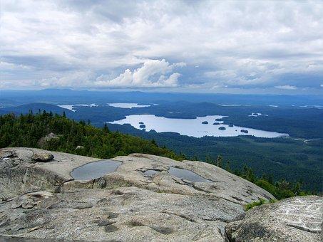 Ampersand Mountain Top, Adirondacks, Mountain Lookout