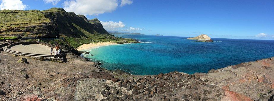 Oahu, Hawaii, Beach, Hawaiian, Ocean, Scenic, Makapu'u