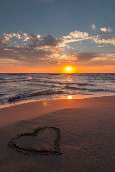 Sea, Background, Beach, Beautiful, Blue, Clouds, Coast
