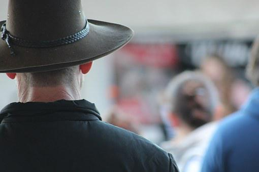 Akubra, Hat, Country, Guy, Man, Cowboy, Outback
