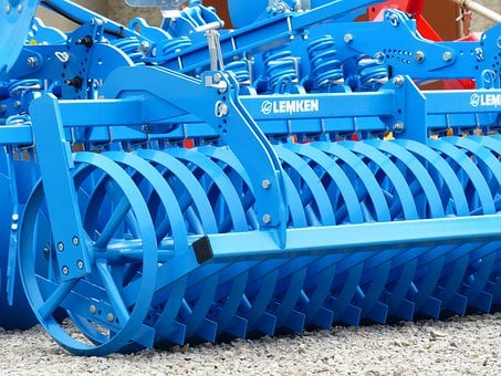 Short Disc Harrow, Harrow, Device, Agriculture, Farm