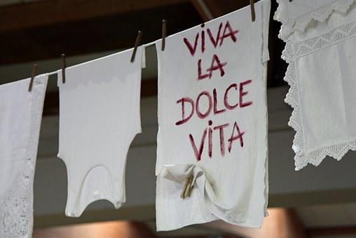 Laundry, Underwear, Dry, Towel, La Dolce Vita, Viva